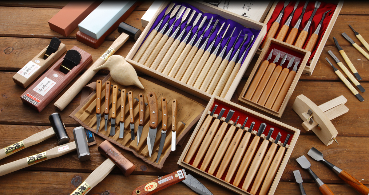 Japanese style woodworking tools